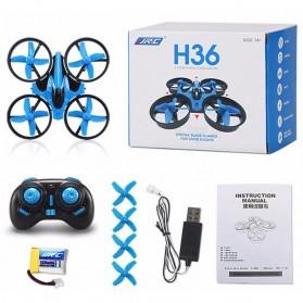 JJRC H36 Mini Drone Quadcopter 6 Axis 2.4G 4CH - Black - 9