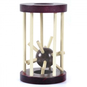 Mainan Asah Otak Unlock Puzzle Model Lock Cage - Tricky01