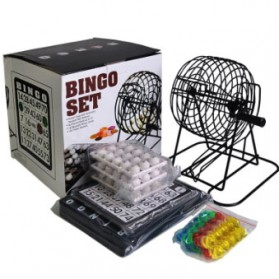 Permainan Bingo Set - ZP001 - Multi-Color