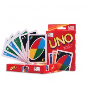 Uno Card Game 2 Pack Set - Multi-Color