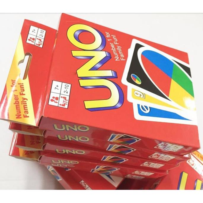 Uno Card Game 2 Pack Set - Multi-Color - JakartaNotebook.com