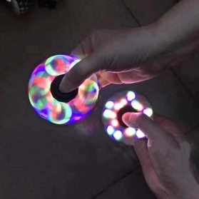 Tri Fidget Spinner LED - Multi-Color - 3