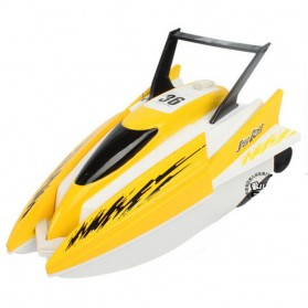 Speedboat Yatch Remote Control - Yellow