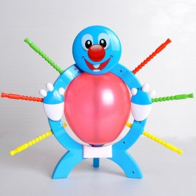 Blasting Balloon Interactive Game - Blue