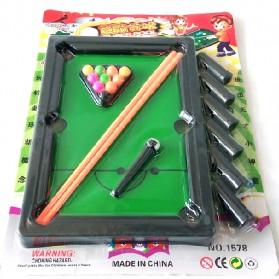 Mini Billiard Game - Multi-Color