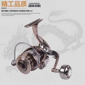 Debao Reel Pancing HM3000 12 Ball Bearing - Brown - 3