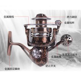 Debao Reel Pancing HM3000 12 Ball Bearing - Brown - 5