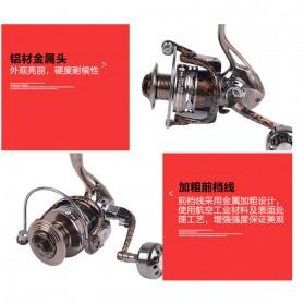 Debao Reel Pancing HM3000 12 Ball Bearing - Brown - 8