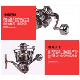 Debao Reel Pancing HM3000 12 Ball Bearing - Brown - 9