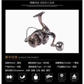 Debao Reel Pancing HM3000 12 Ball Bearing - Brown - 11