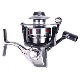 DEBAO Reel Pancing BM3000 12 Ball Bearing - Silver - 3