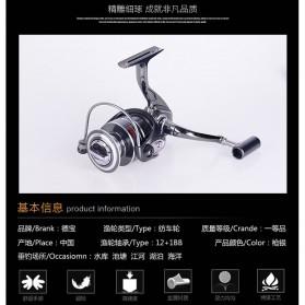 DEBAO Reel Pancing BM3000 12 Ball Bearing - Silver - 11