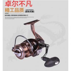 Reel Pancing RS4000 12 Ball Bearing - Brown - 3