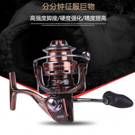 Reel Pancing RS4000 12 Ball Bearing - Brown - 5