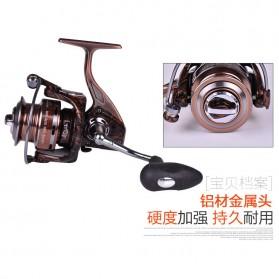 Reel Pancing RS4000 12 Ball Bearing - Brown - 7