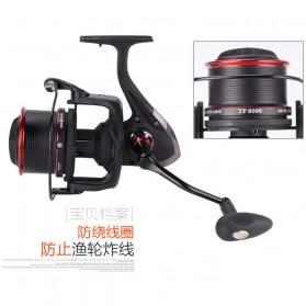 De Bao Reel Pancing TP8000 12 Ball Bearing - Black - 3