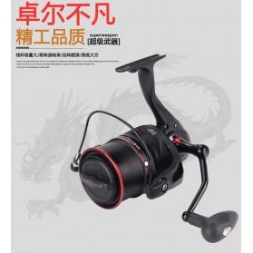 De Bao Reel Pancing TP8000 12 Ball Bearing - Black - 4
