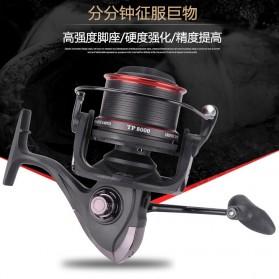 De Bao Reel Pancing TP8000 12 Ball Bearing - Black - 6