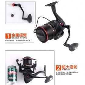 De Bao Reel Pancing TP8000 12 Ball Bearing - Black - 7