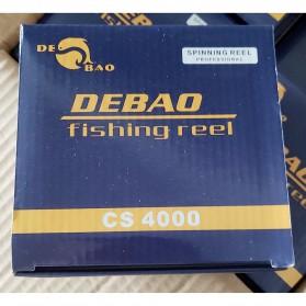 Debao Reel Pancing CS4000 8 Ball Bearing 5.2:1 Gear Ratio - Blue - 11
