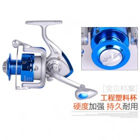 DEBAO Reel Pancing CS5000 8 Ball Bearing - Blue - 9