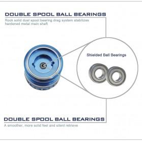 KastKing Reel Pancing Summer 3000 9 Ball Bearing - Blue - 10