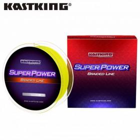 KastKing Senar Pancing PE Fiber 0.08mm 300 Meter - Yellow