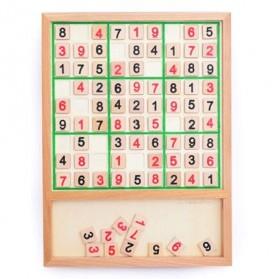 Papan Permainan Sudoku Kayu - 2
