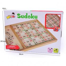 Papan Permainan Sudoku Kayu - 3