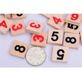 Papan Permainan Sudoku Kayu - 4