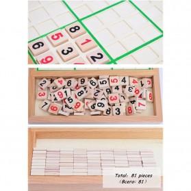 Papan Permainan Sudoku Kayu - 6