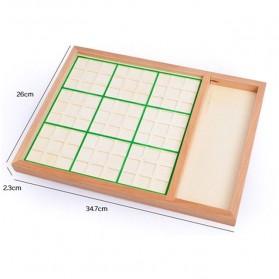 Papan Permainan Sudoku Kayu - 7