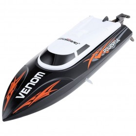 Venom Speedboat Remote Control - Black