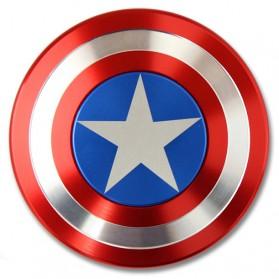 Captain America Metal Fidget Spinner - Red