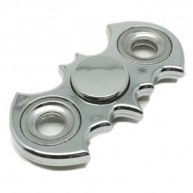 Batman Bar Fidget Spinner - Silver