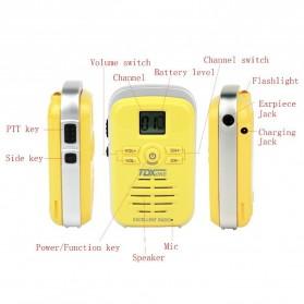 TDXONE Kids Mini Walkie Talkie Single Band 3W 99CH UHF - Q3 - Black - 10