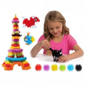 Mainan Edukasi Bunchems Thorn Ball Clusters 400 PCS - Multi-Color - 2