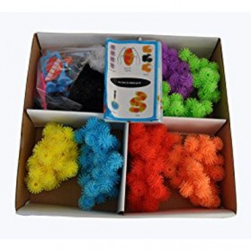 Mainan Edukasi Bunchems Thorn Ball Clusters 400 PCS - Multi-Color - 4