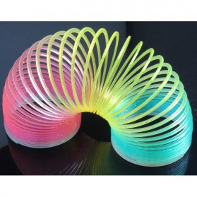 Qixing Toys Slinky Spring Rainbow - Multi-Color