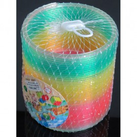 Qixing Toys Slinky Spring Rainbow - Multi-Color - 4