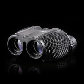 Teropong Binocular HD Profosional Magnification 10 x 25 - Black