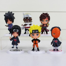 Action Figure Naruto 6 PCS - Model 19