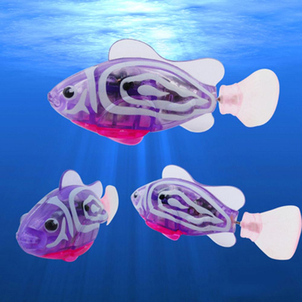 Mainan Ikan Elektrik Fish Tank Multi Color Robot Bisa Berenang Seperti Sungguhan 8