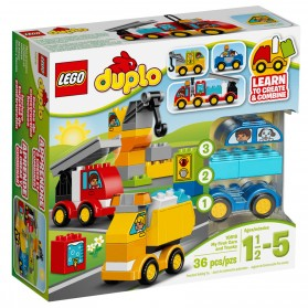 Lego Duplo My First Car and Truck Series - 10816 - Multi-Color