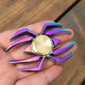 Spider Metal Fidget Spinner - Multi-Color