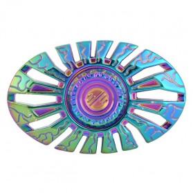 Alien Space Ship Metal Fidget Spinner - Multi-Color