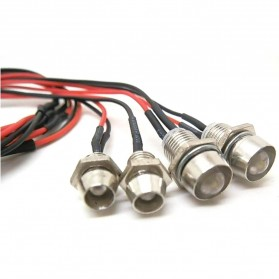 Lampu LED RC Drift Car 1:10 On-Road 5mm dan 3mm - 2
