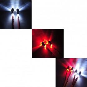 Lampu LED RC Drift Car 1:10 On-Road 5mm dan 3mm - 6