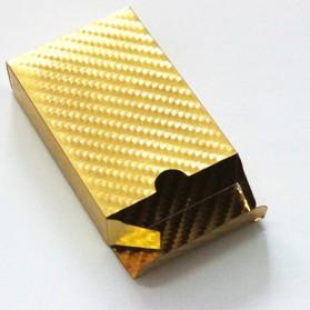 Kartu Remi Poker Lapisan Gold Foil Motif Dollar - THKK9273A - Golden - 4