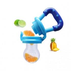 Perlengkapan Makan Bayi - Dot Empeng Bayi Botol Feeder Buah - AP1310 - Blue